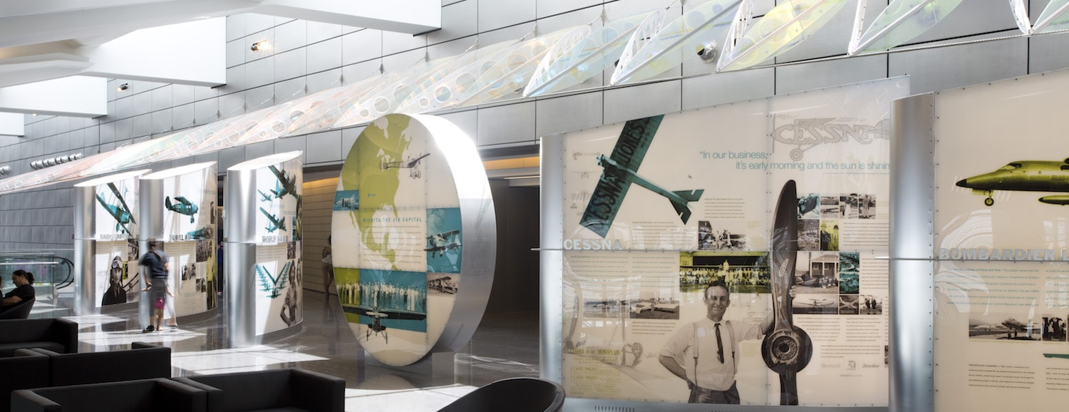 Wichita Airport History Display Greteman Group
